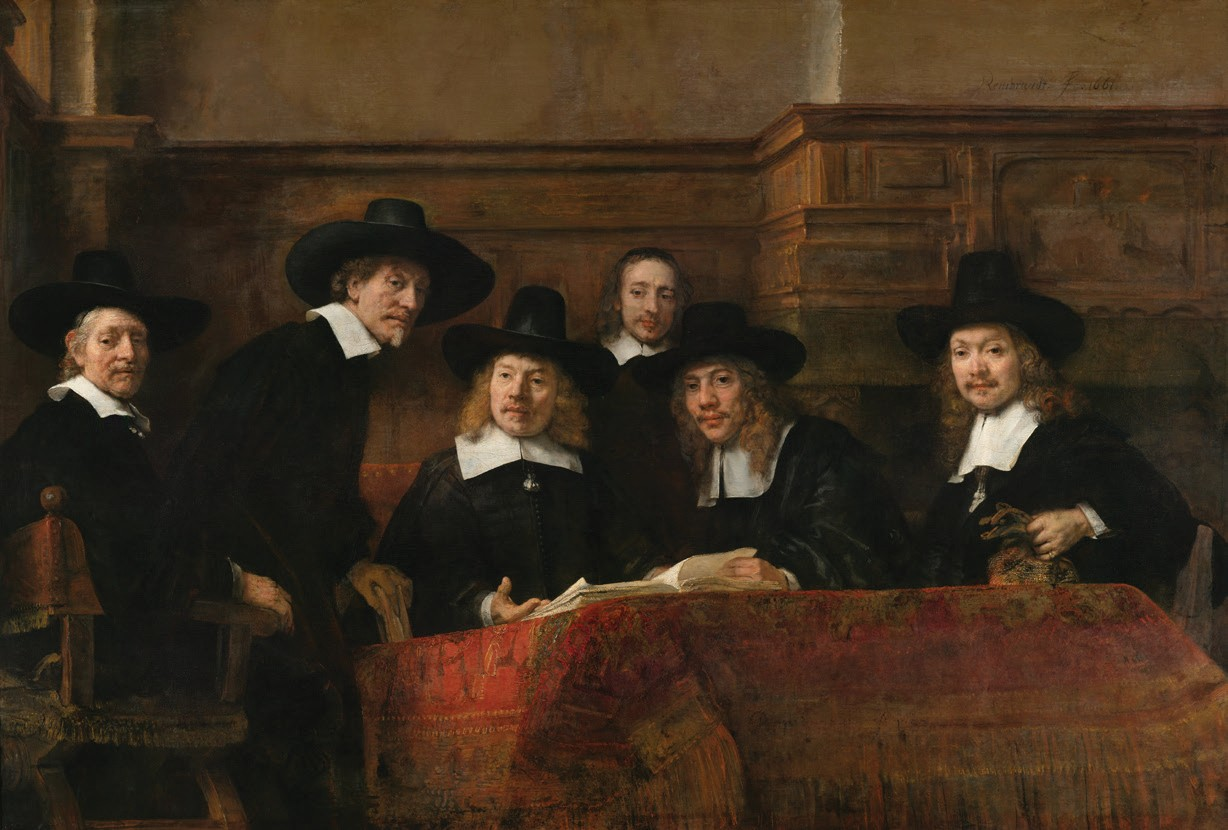 "The Syndics of the Amsterdam Drapers' Guild, known as the ""Sampling Officials"""