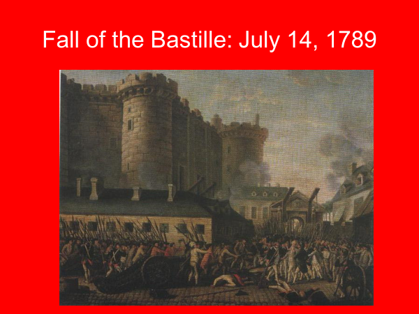 fall of the bastille july 14 1798