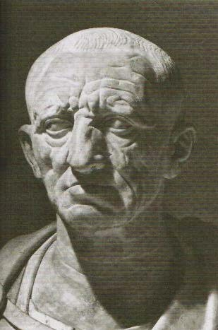 Bust of an austere Roman, possibly Cato the Elder