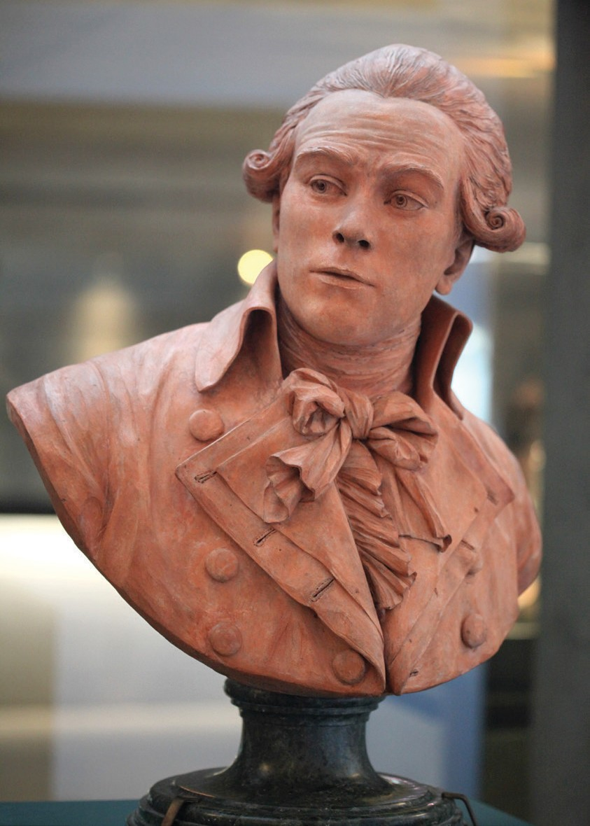 Bust of Maximilien Robespierre