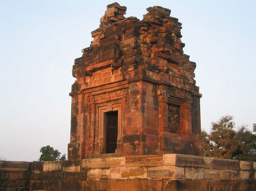 An early Hindu temple in Deogarh, India