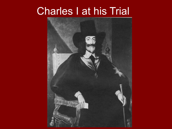charles the first at his trial