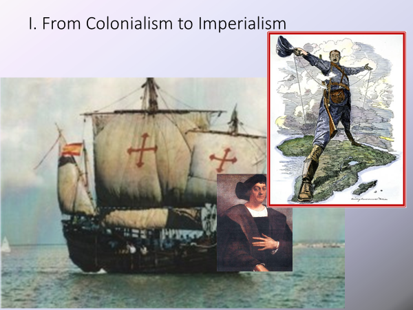 from colonialism to imperialism