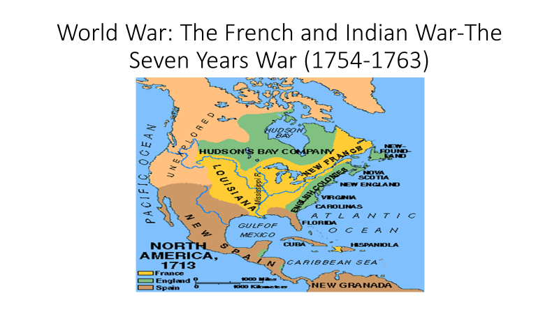 map of the seven years war