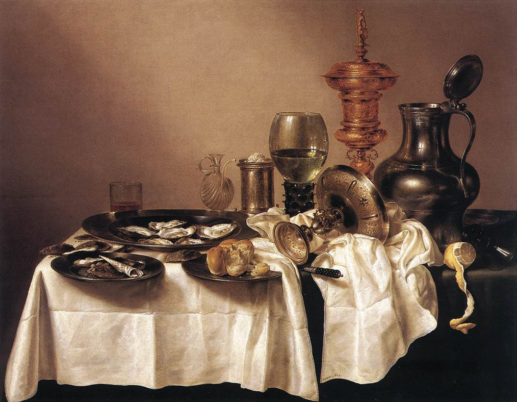 Still Life with Gilt Goblet