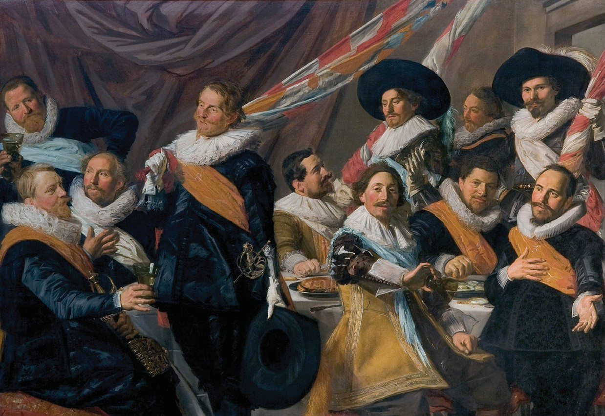 Officers of the St. George Civic Guard, Haarlem
