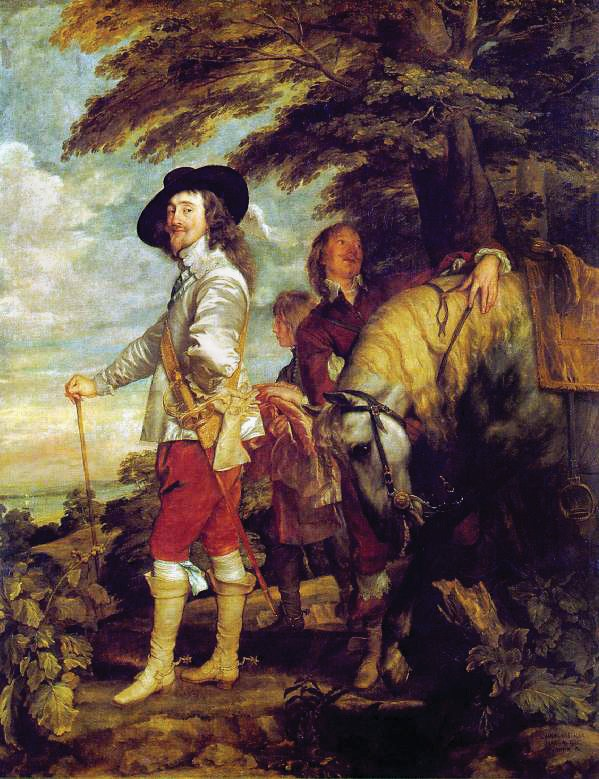 Charles I at the Hunt