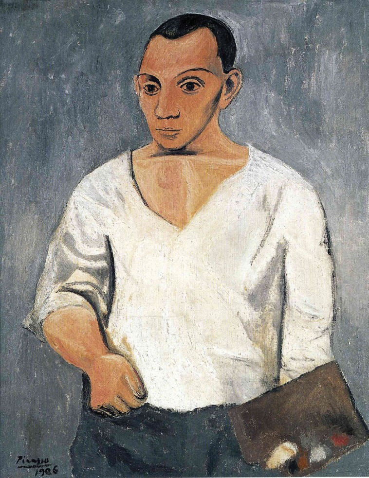 Self-portrait, Pablo Picasso