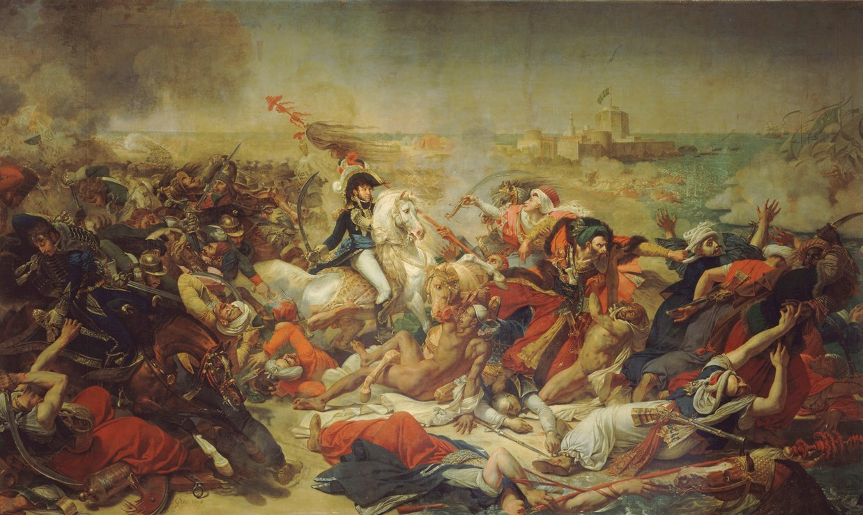 The Battle of Abukir, 25 July 1799