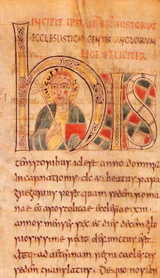 Manuscript of Bede's History of the English Church and People