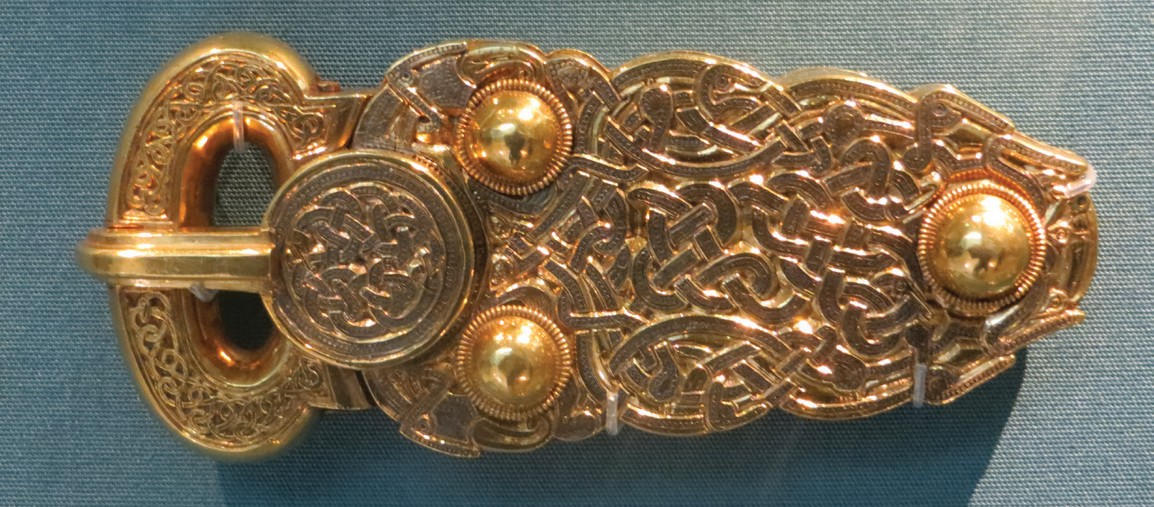 Belt Buckle from Sutton Hoo ship burial