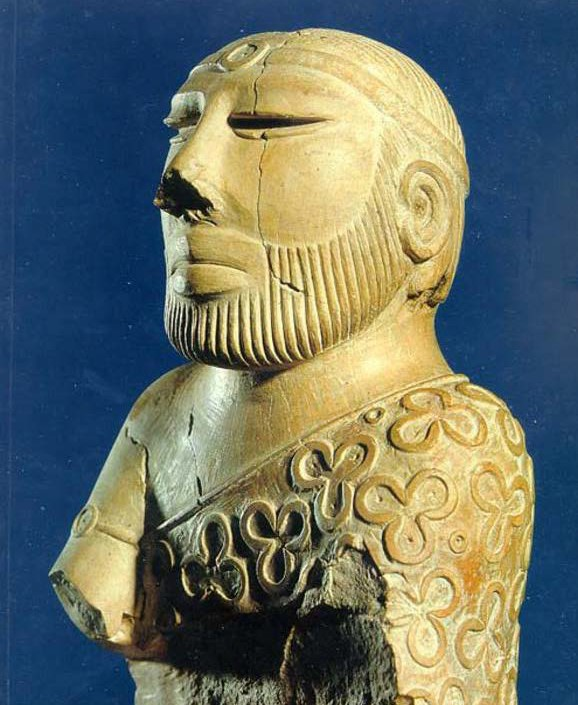 Indus Priest/King stone Statue