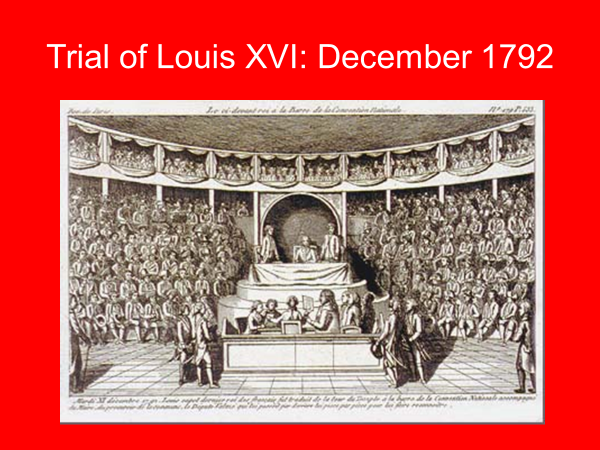trial of louis the 16th december 1792