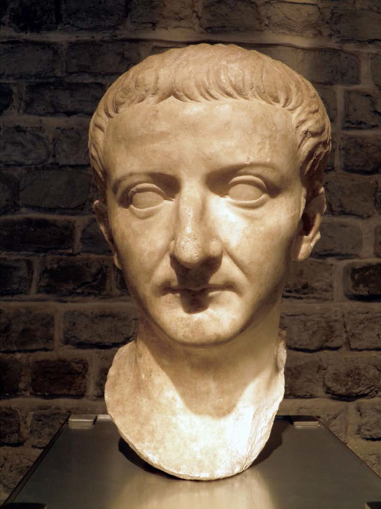 Bust of the Emperor Tiberius