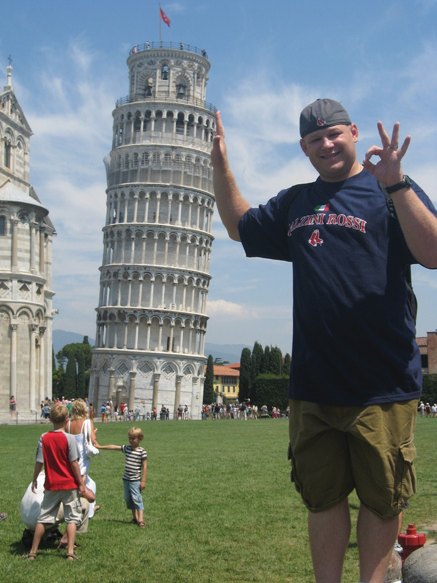 The Leaning Tower of Pisa: Forced Perspective