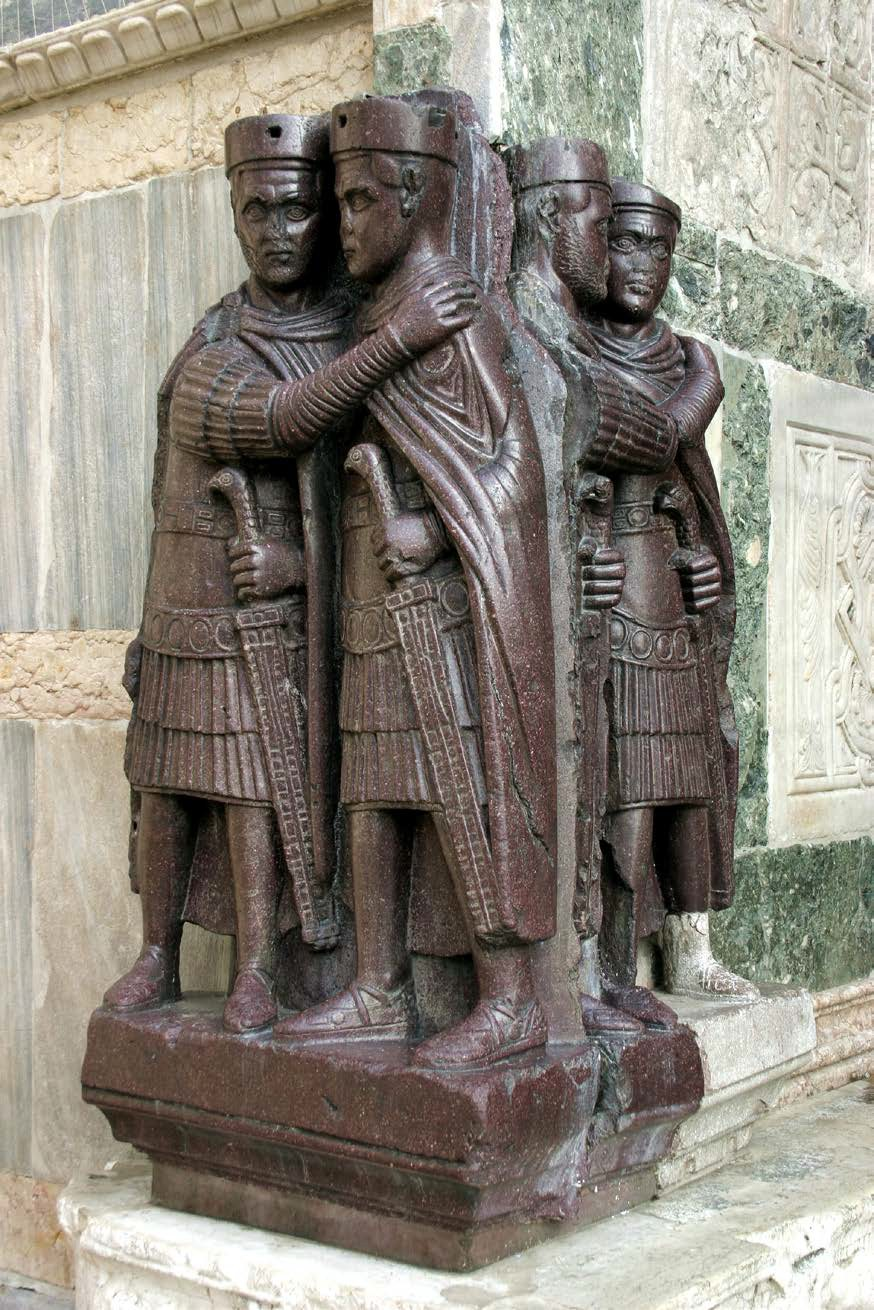 State Column of the Tetrarchs