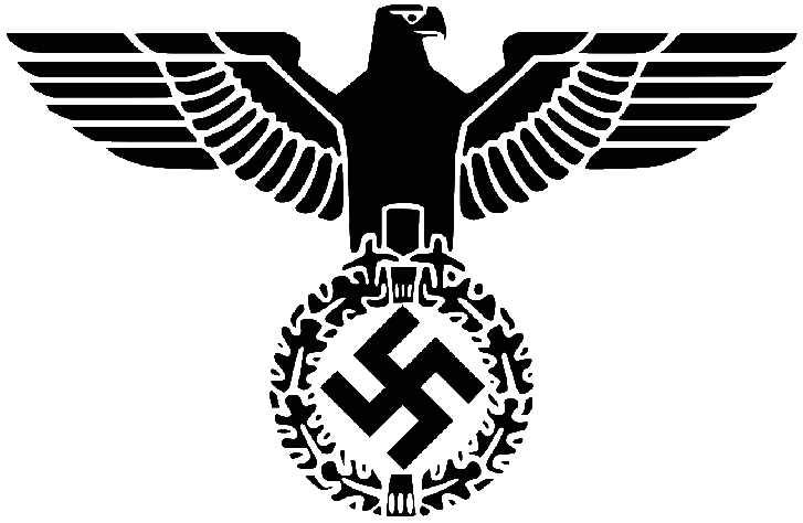 The Emblem of the Nationalsozialistische Deutsche Arbeiterpartei (NSDAP also known as the Nazi Party)
