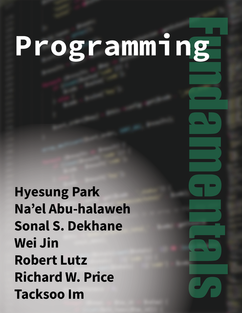 Programming Fundamentals cover photo